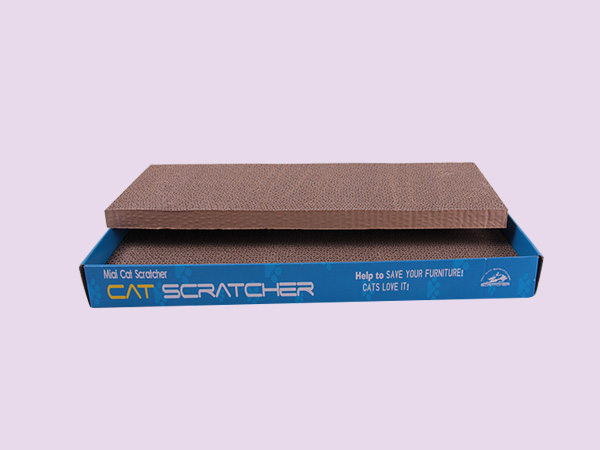 Double-layer cat scratching pad SY-007